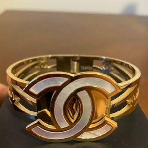 Cute 💛 Big Logo Cuff Bracelet
